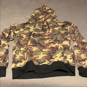 Tops - Kylie Jenner Shop Camo Sweatshirt